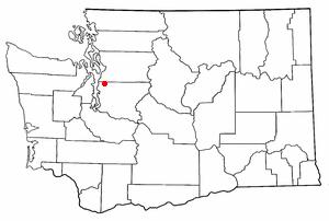 Lake Forest Park, Washington - Location of Lake Forest Park, Washington