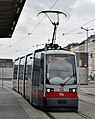 WL 114, Hauptbahnhof tram stop (Vienna; street level), 2019 (02).jpg