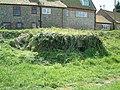 WW2 Pillbox hidden in the undergrowth - geograph.org.uk - 748143.jpg