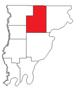 Location of Friendsville Precinct in Wabash County