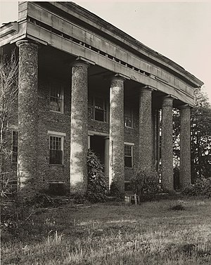 Huntsville, Alabama - Wade House, by Frances Benjamin Johnston, 1939