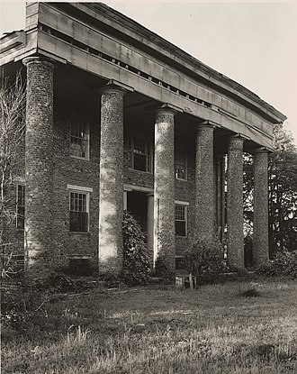 Huntsville, Alabama - Wade House, 1939, by Frances Benjamin Johnston