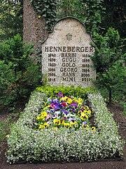 Waldfriedhof Grabstätte Barbara Henneberger
