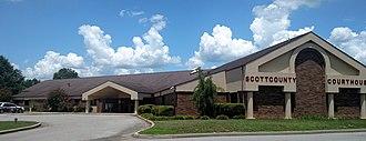 Scott County, Arkansas - Image: Waldron, AR 006