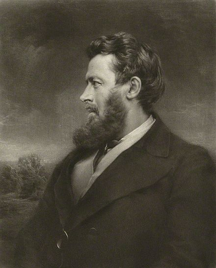 Walter Bagehot, an influential theorist on the economic role of the central bank. Walter Bagehot NPG cropped.jpg
