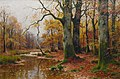 Walter Moras Bachlauf im Herbstwald.jpg