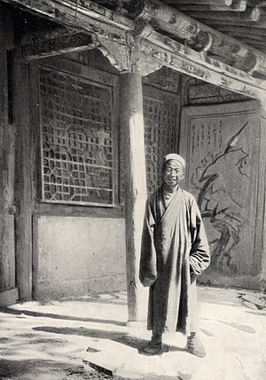 Mogao Caves - Abbot Wang Yuanlu, discoverer of the hidden Library Cave