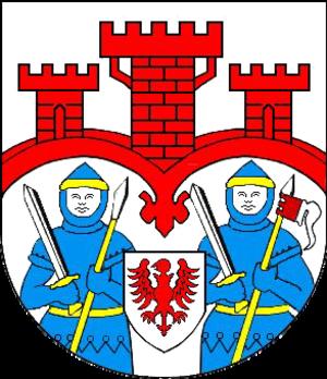 Friedland, Mecklenburg-Vorpommern - Image: Wappen Friedland