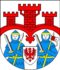 coat of arms of the city of Friedland (Mecklenburg)
