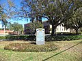 War Memorial in front of Baker County Courthouse, Macclenny.JPG