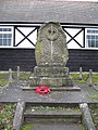 War memorial, Ashford Carbonel - geograph.org.uk - 669376.jpg