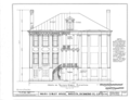 Ware-Sibley-Clark House, 506 Telfair Street, Augusta, Richmond County, GA HABS GA,123-AUG,36- (sheet 2 of 8).png