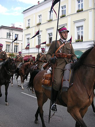 Armed Forces Day (Poland) - Image: Warsaw Cavalry parade 3