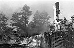 Warsaw Uprising by Gąszewski - Burned Wiersze village in Kampinos -n 5 27A1.jpg