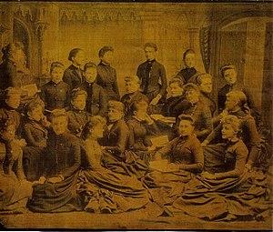 Washington Female Seminary - Image: Washington Female Seminary Class of 1888