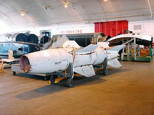 """Wasserfall - """"Wasserfall"""" rocket displayed at National Museum of the U.S. Air Force"""