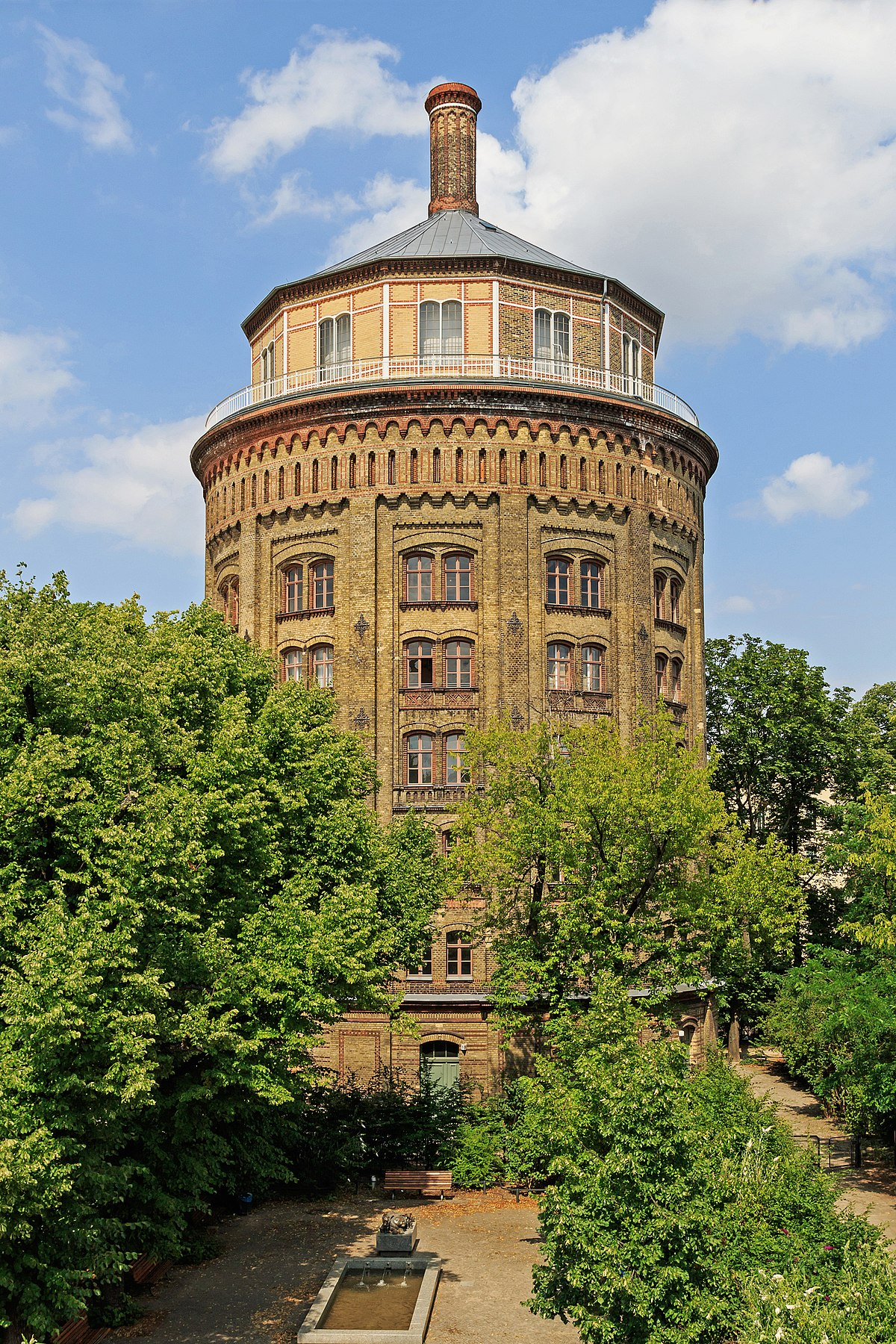 wasserturm prenzlauer berg wikidata. Black Bedroom Furniture Sets. Home Design Ideas