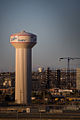 Water tower in El Paso, TX.JPG