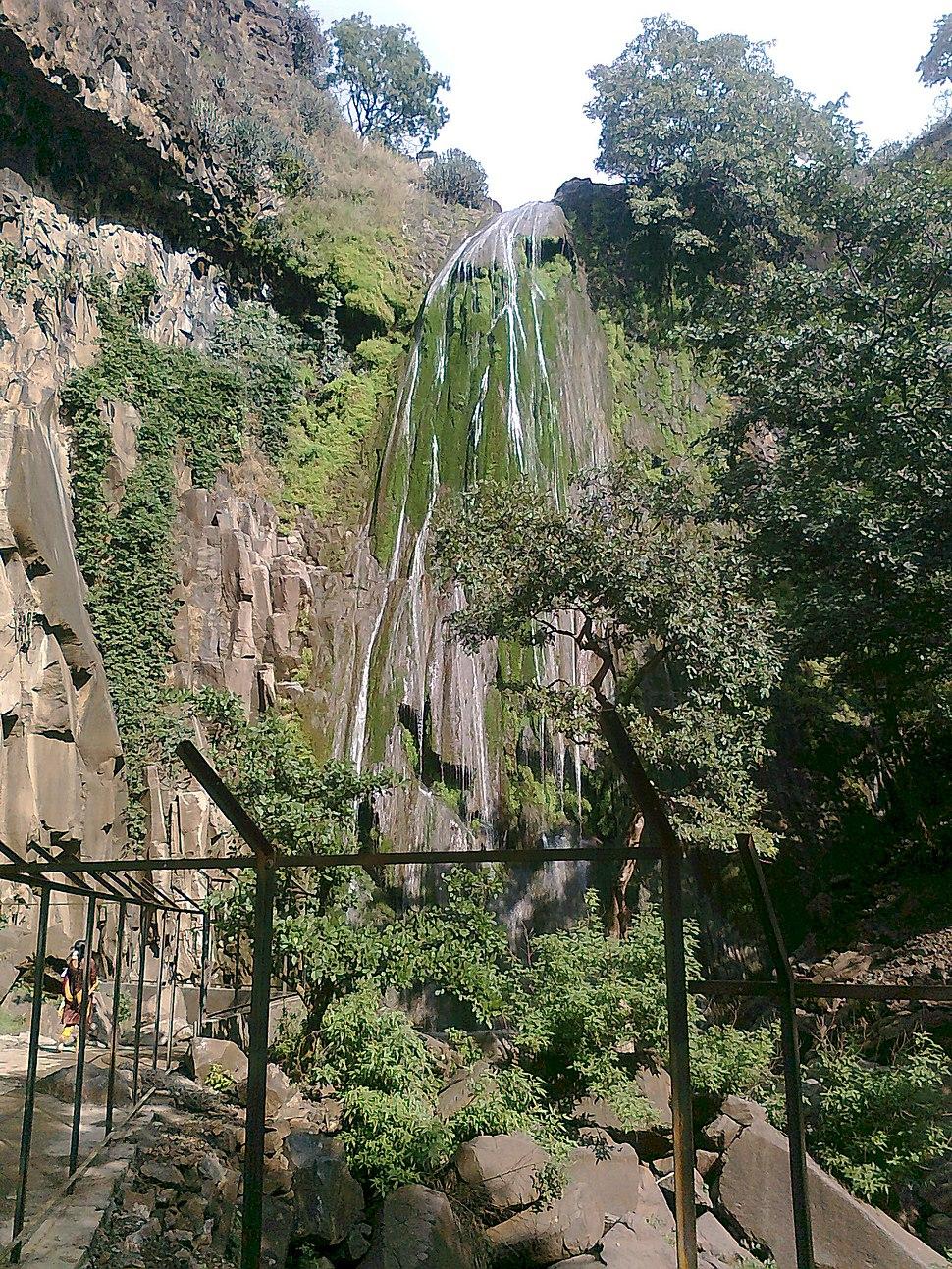 Waterfall at Muktagiri, Betul (M.P.)