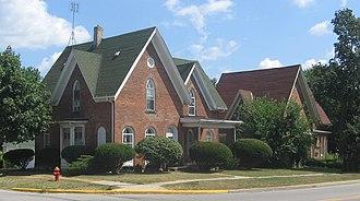 Waterloo, Indiana - Historic houses in Waterloo