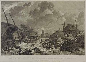 Storm tides of the North Sea - Netherlands Flood 1809