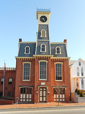 National Register of Historic Places listings in Franklin County, Pennsylvania - Image: Waynesboro PA Town Hall