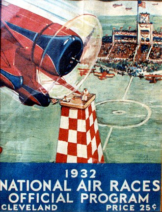 Cliff Henderson - Wedell Williams Model 44 II Poster, 1932 National Air Races. Source: Charles Daniels Photo Collection, San Diego Air and Space Museum
