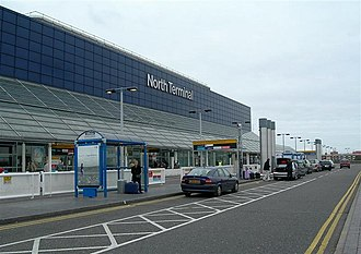 Gatwick Airport - Exterior of the North Terminal before renovation