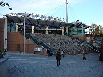 London Designer Outlet - Wembley Park Station in 2007