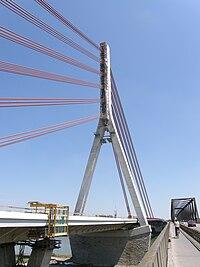 Wesel NeueRheinbrückeB58 Bauphase2009 02.jpg