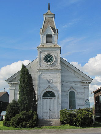 Addison, Vermont - The West Addison Methodist Church is located at the West Addison village center.