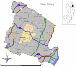 West Orange – Mappa
