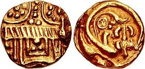 Someshvara I - Image: Western Chalukyas of Kalyana King Somesvara I Trailokyamalla 1043 1068