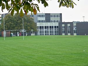 Wetherby High School - The buildings from the East