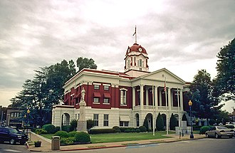 Searcy, Arkansas - WhiteCo AR courthouse