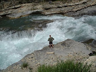 Whitewater - Whitewater on the river Guil (French Alps)