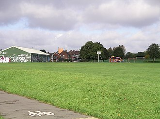 Whitley, Coventry - Whitley Common is a large expanse of grassland with some recreation facilities and football pitches