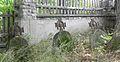 Wiśniowa - Cmentarz nr 374 - Groby żołnierzy - 1915.jpg