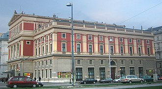 Vienna New Year's Concert - The Vienna Music Association's concert hall in 2004