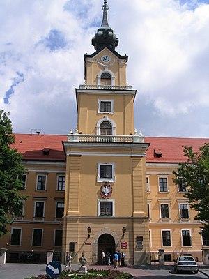 Rzeszów Castle - Castle tower from Kraszewski Street