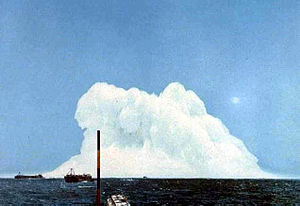 Underwater explosion - The 1955 Wigwam test
