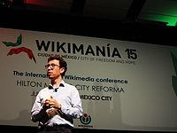 Wikimanía 2015 - Day 4 - Luis von Ahn conference - LMM (16).jpg