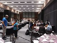 Wikimania 2015-Thursday-Food for hungry Hackathon people (21).jpg