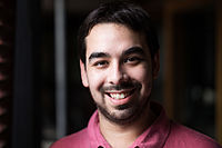 Wikimania Portraits - London - Adam Novak 08.jpg