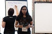 Wikimedia Hackathon Vienna 2017-05-19 Mentoring Program Introduction 018.jpg