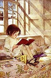 Un'illustrazione di Jessie Willcox Smith.