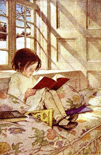 Illustration - Illustration by Jessie Willcox Smith (1863–1935)