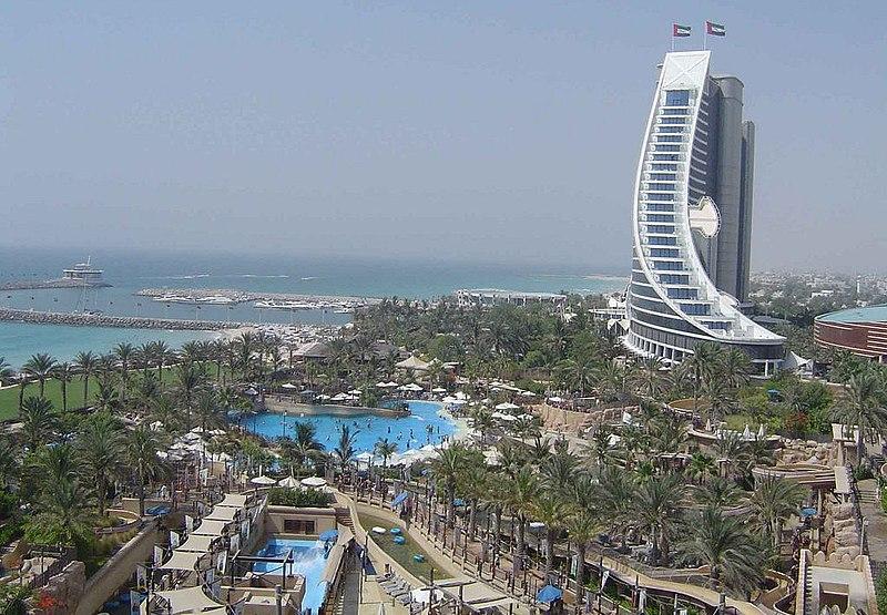Parque acuático en Dubai