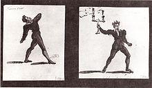 Devrient als Franz Moor (Skizze von Wilhelm Hensel) (Quelle: Wikimedia)