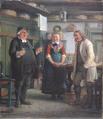 Wilhelm Marstrand - Per Degn synger for en snaps - 1865.png